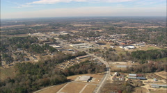 AERIAL United States-Approaching Mullins Stock Footage