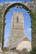 St Andrew's Church, Covehithe, Suffolk, England Stock Photos