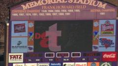 AERIAL United States-Clemson University Stadium Stock Footage