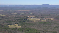 AERIAL United States-Chattahoochee National Forest Stock Footage