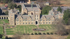 AERIAL United States-Berry College Stock Footage