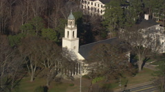 AERIAL United States-Emory University Stock Footage