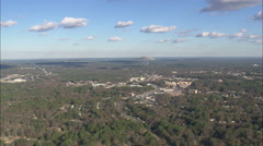 AERIAL United States-Stone Mountain Stock Footage
