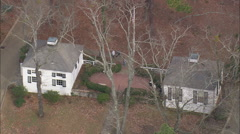 AERIAL United States-Callaway Gardens Stock Footage