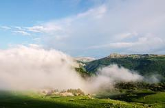The Navarra Mountaineering FedBelagua.eration is committed to the Refugio de Stock Photos