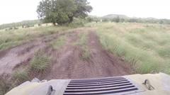 ATV Rider POV Time Lapse Stock Footage