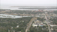 AERIAL United States-St Augustine Stock Footage