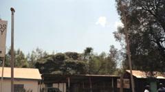 Ministry of lands survey office, Maralal, Samburu, Kenya, Africa, shallow DOF Stock Footage