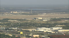 AERIAL United States-Orlando International Airport Stock Footage