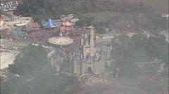 AERIAL United States-Walt Disney World Resort Stock Footage