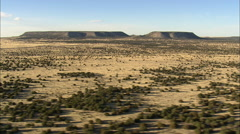 AERIAL United States-Trinchera And Duran Mesas Stock Footage