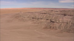 AERIAL United States-Across The Painted Desert Stock Footage