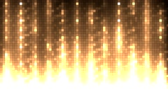 Abstract  orange equalizer. Stock Footage