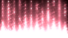 Abstract red equalizer. - stock footage