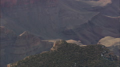 AERIAL United States-Grand Canyon From South Edge Stock Footage