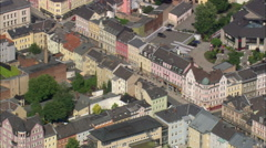 AERIAL Germany-Hof - stock footage