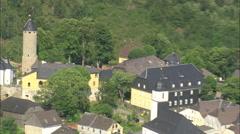 AERIAL Germany-Lichtenberg Stock Footage