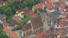AERIAL Germany-Coburg Stock Footage