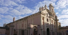 Monastery in the city of Cordoba, Argentina Stock Footage