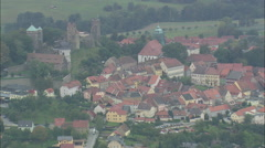 AERIAL Germany-Stolpen - stock footage