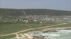 AERIAL South Africa-Port Beaufort, Infanta And Witsand Stock Footage