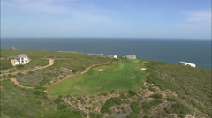 AERIAL South Africa-Pinnacle Point Golf Resort Stock Footage