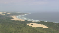 AERIAL South Africa-Oyster Bay Stock Footage