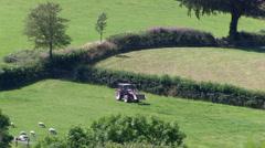 English Countryside Farming Stock Footage