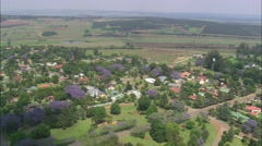 AERIAL South Africa-Piet Retief Stock Footage