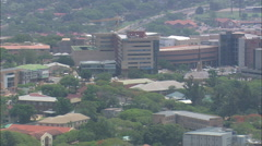 AERIAL South Africa-Nelspruit Stock Footage