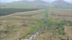 AERIAL South Africa-Blyde River Stock Footage