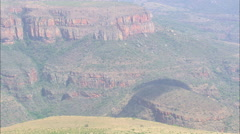 AERIAL South Africa-Blyde River Canyon Stock Footage