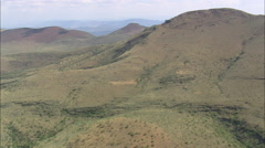 Western Edge Of The Bewaarkloof Nature Reserve Stock Footage