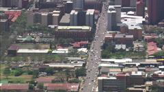 AERIAL South Africa-Pretoria City Centre Stock Footage