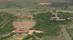 AERIAL South Africa-Voortrekker Monument 30 Stock Footage