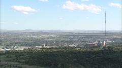 AERIAL South Africa-Bloemfontein Stock Footage