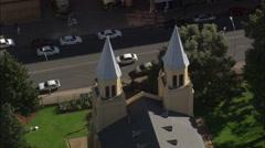 AERIAL South Africa-Tweetoringkerk 30 Stock Footage