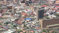 AERIAL South Africa-Kimberley Stock Footage