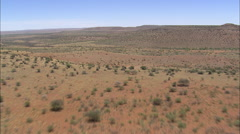 AERIAL South Africa-Arid Landscape Stock Footage
