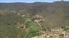 AERIAL South Africa-Goedverwag Stock Footage