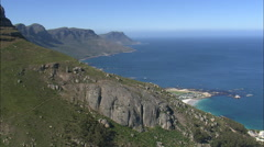 AERIAL South Africa-Cape Town Stock Footage