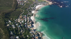 AERIAL South Africa-Bakoven And The 'Oven Door' Rock Stock Footage