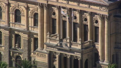 AERIAL South Africa-Town Hall - stock footage