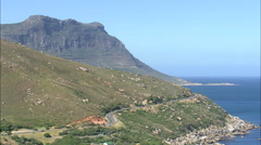 AERIAL South Africa-Twelve Apostles - stock footage