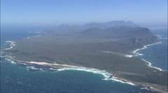 AERIAL South Africa-Cape Of Good Hope Stock Footage