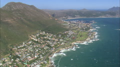 AERIAL South Africa-Boulders Beach Stock Footage