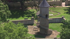 AERIAL South Africa-Fairview Winery And Goat Tower Stock Footage
