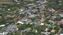 AERIAL South Africa-Franschhoek Stock Footage