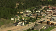 AERIAL United States-Hill City - stock footage