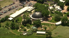 AERIAL United States-Reptile House Near Rapid City Stock Footage